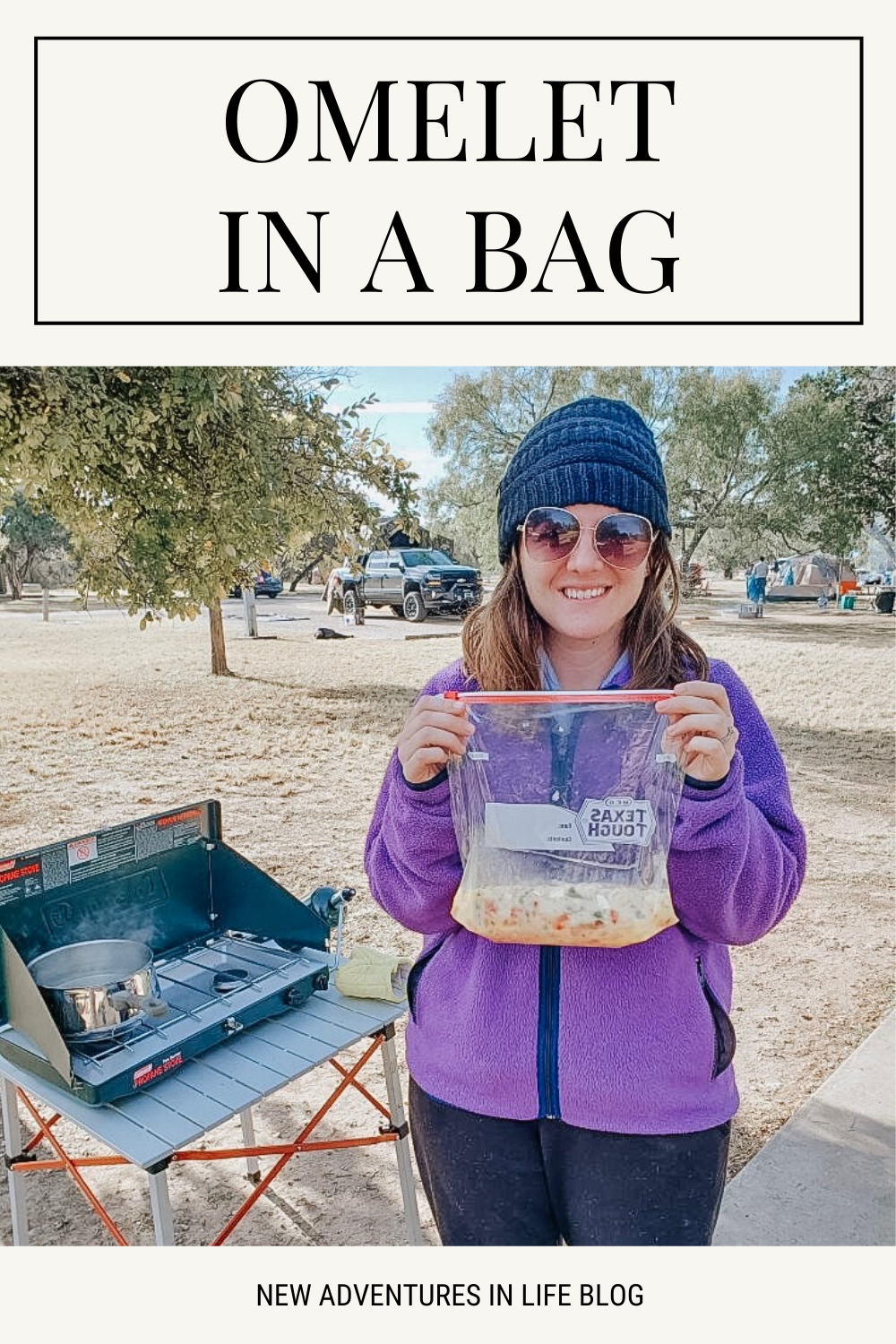 omelet in a bag camping recipe